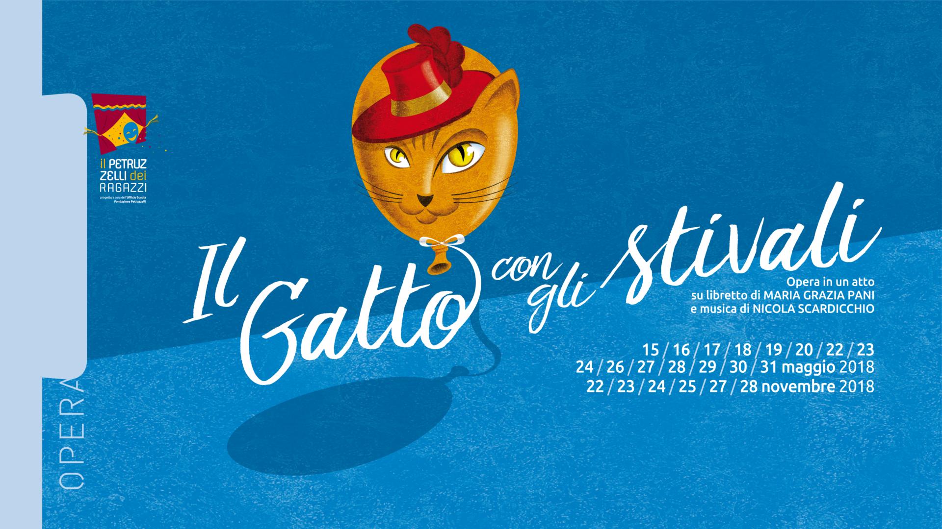 «Il gatto con gli stivali»: al Petruzzelli dal 15 maggio l'opera per ragazzi e famiglie