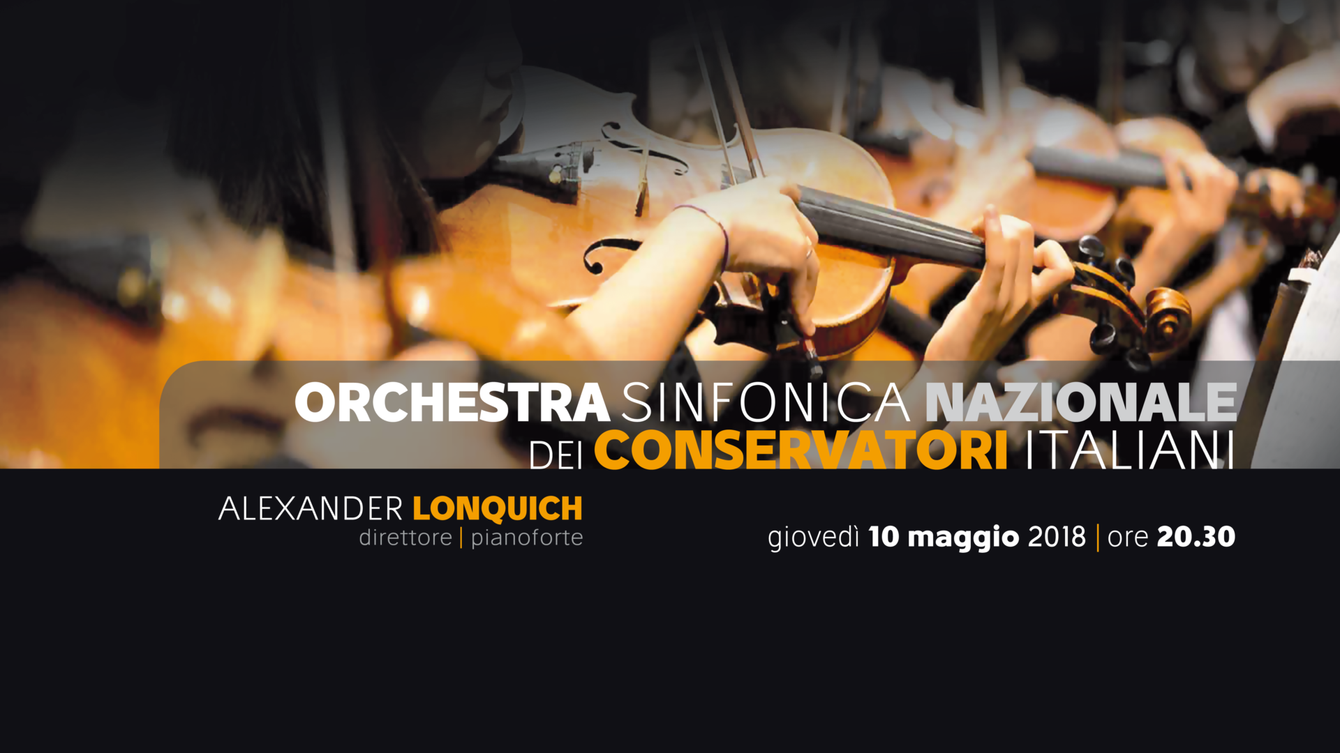Concerto Orchestra Sinfonica Nazionale Conservatori Italiani