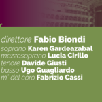 SINFONICO | 6 GIUGNO [ ANNULLATO PER COVID-19 ]