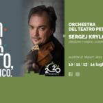 Concerto di Sergej Krylov con l'Orchestra della Fondazione Teatro Petruzzelli