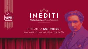 INEDITI | Pillole di storia del Teatro Petruzzelli